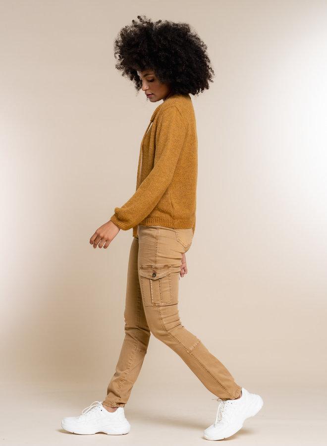 Cargo pants camel - Geisha