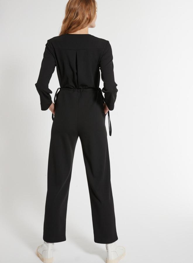 Jumpsuit zwart - Ana Alcazar