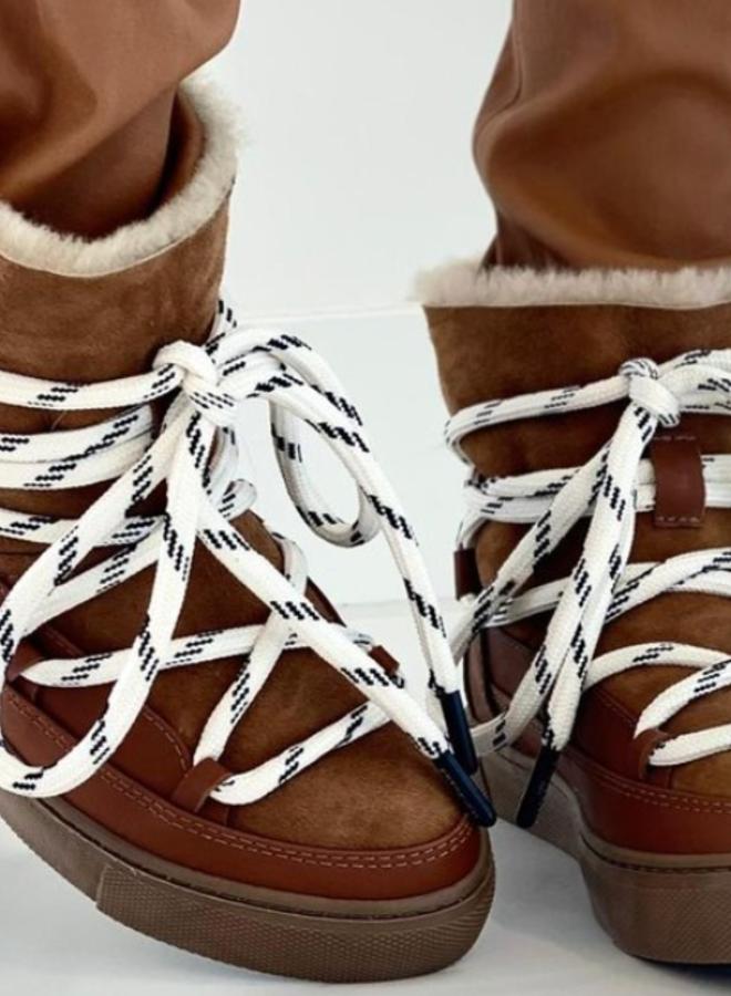Est' Mouton boots brown  - Est Seven