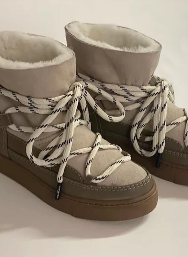 Est' Mouton boots taupe  - Est Seven