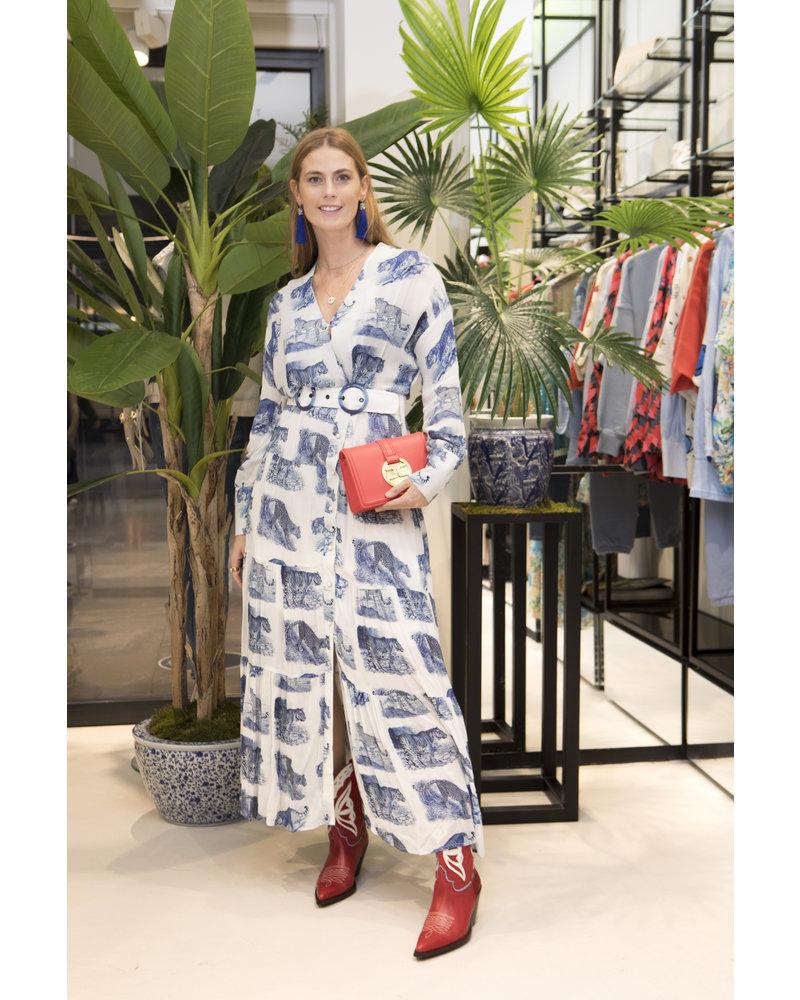 SILVIAN HEACH Lange jurk Peakes