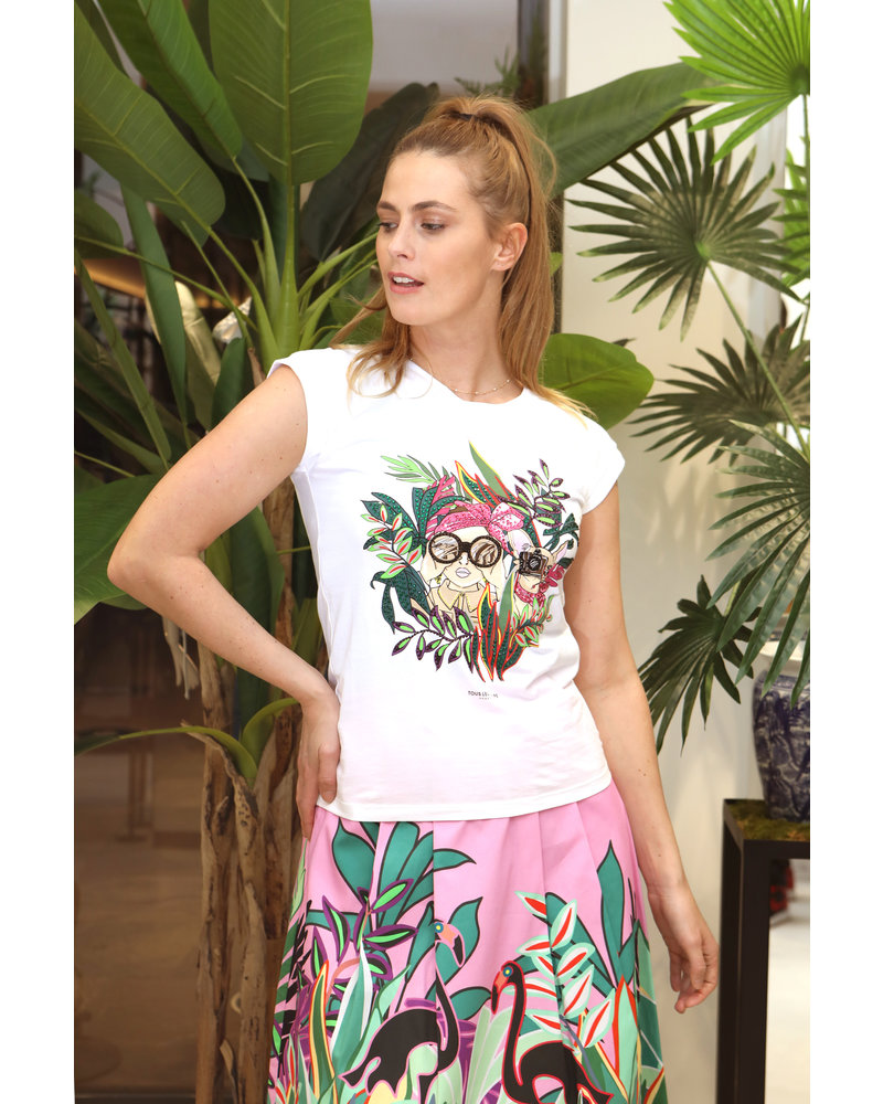 NENETTE T-shirt met print