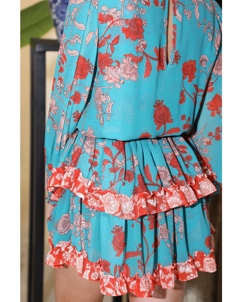 MISA Korte jurk Camila
