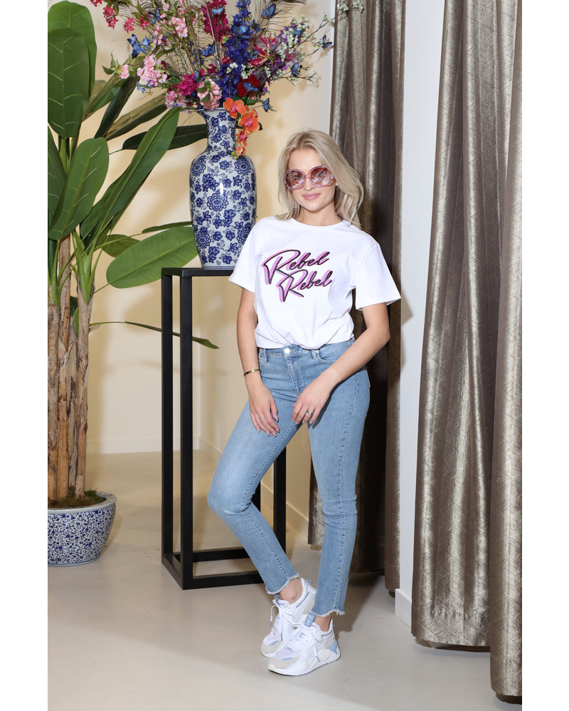 Homage  Cropped Slim Jeans