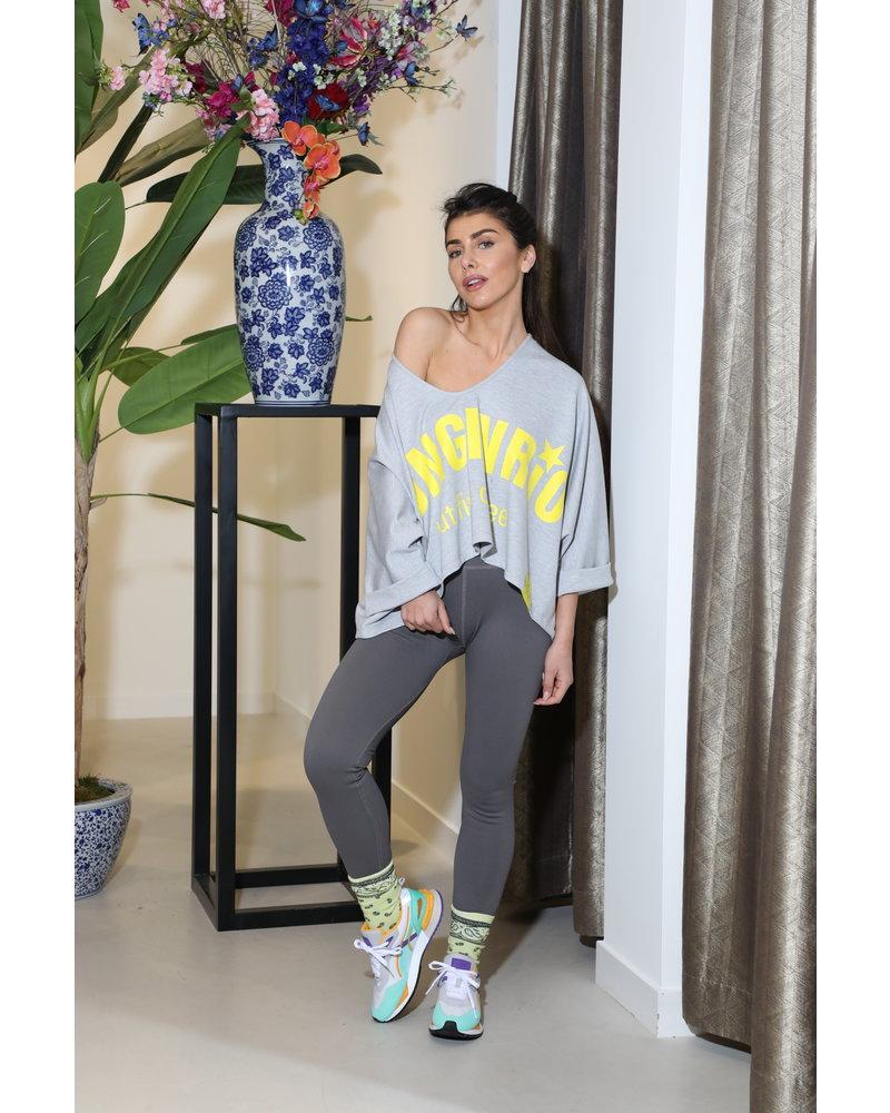 Sweater Grey Wide