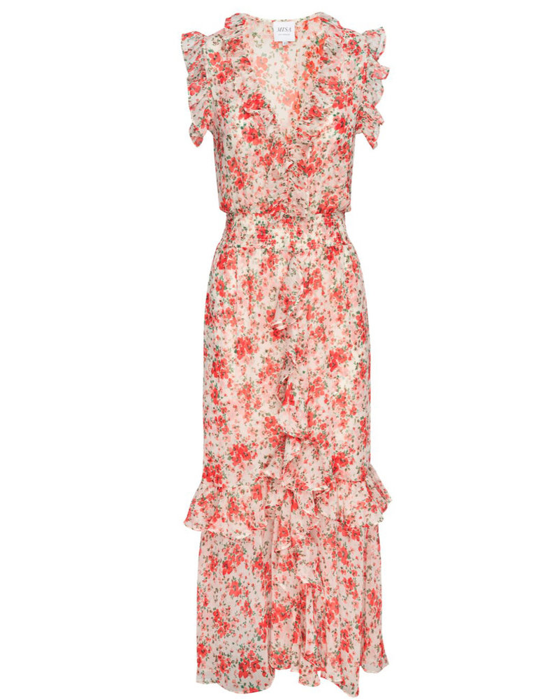 MISA Lange jurk Kadida