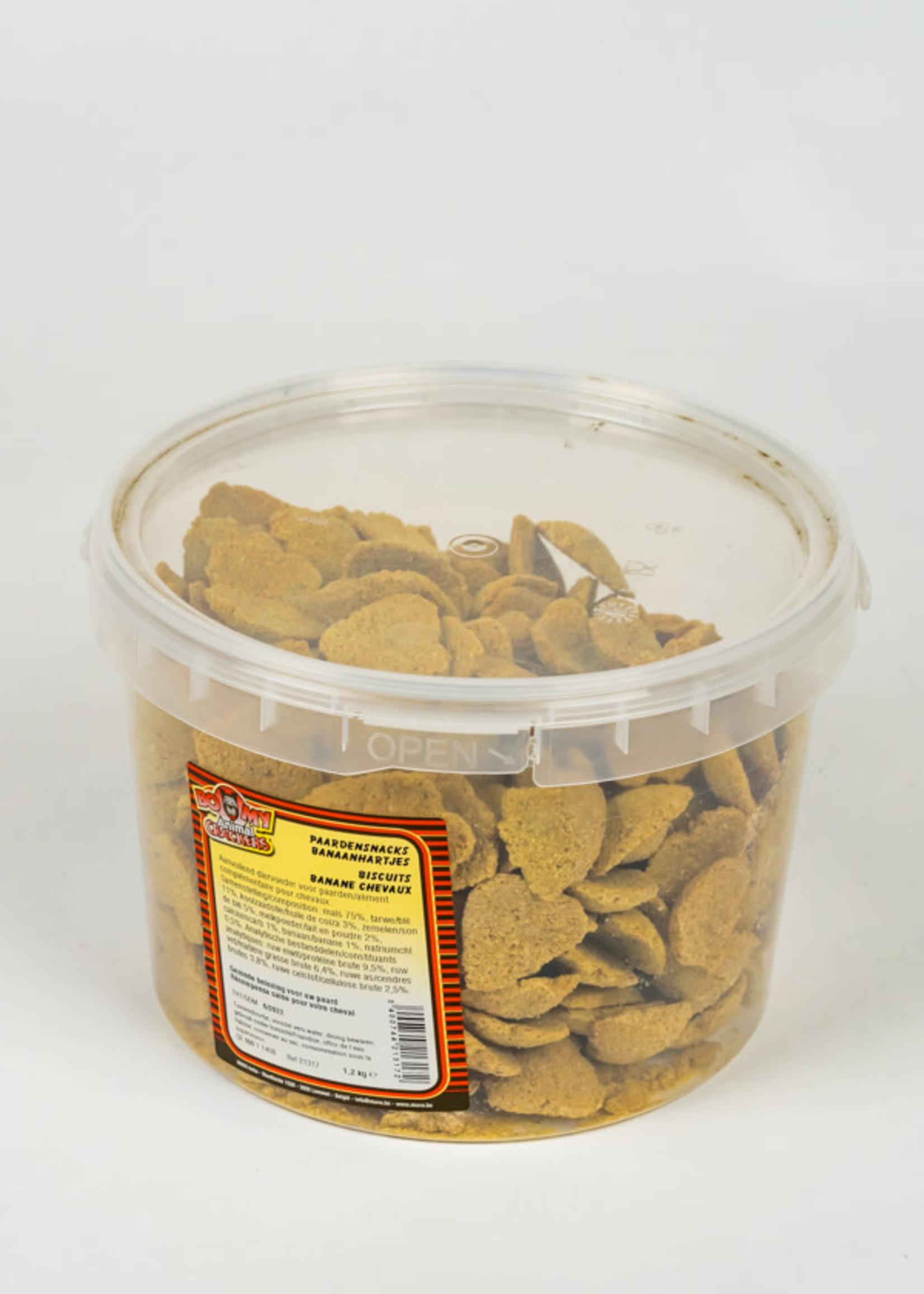 Banaanhartjes 1.2 kg
