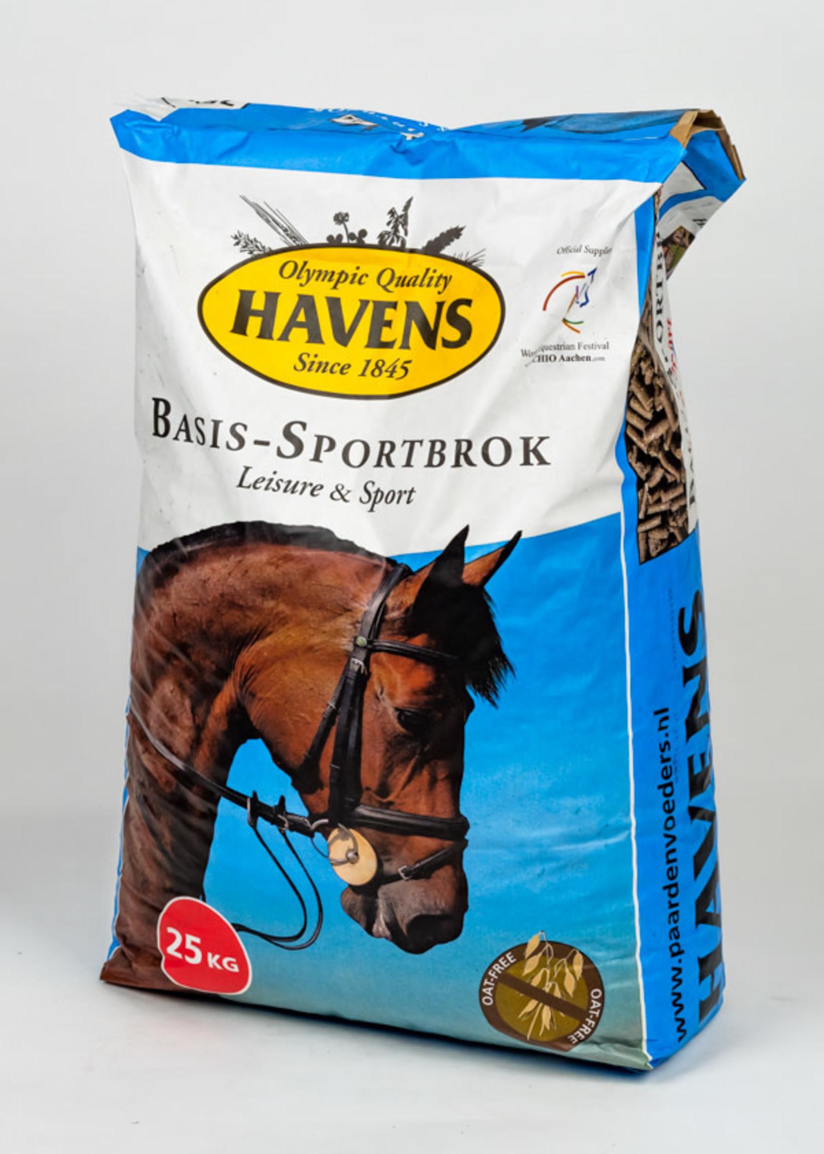 Havens Havens Basis-sportbrok 25 kg