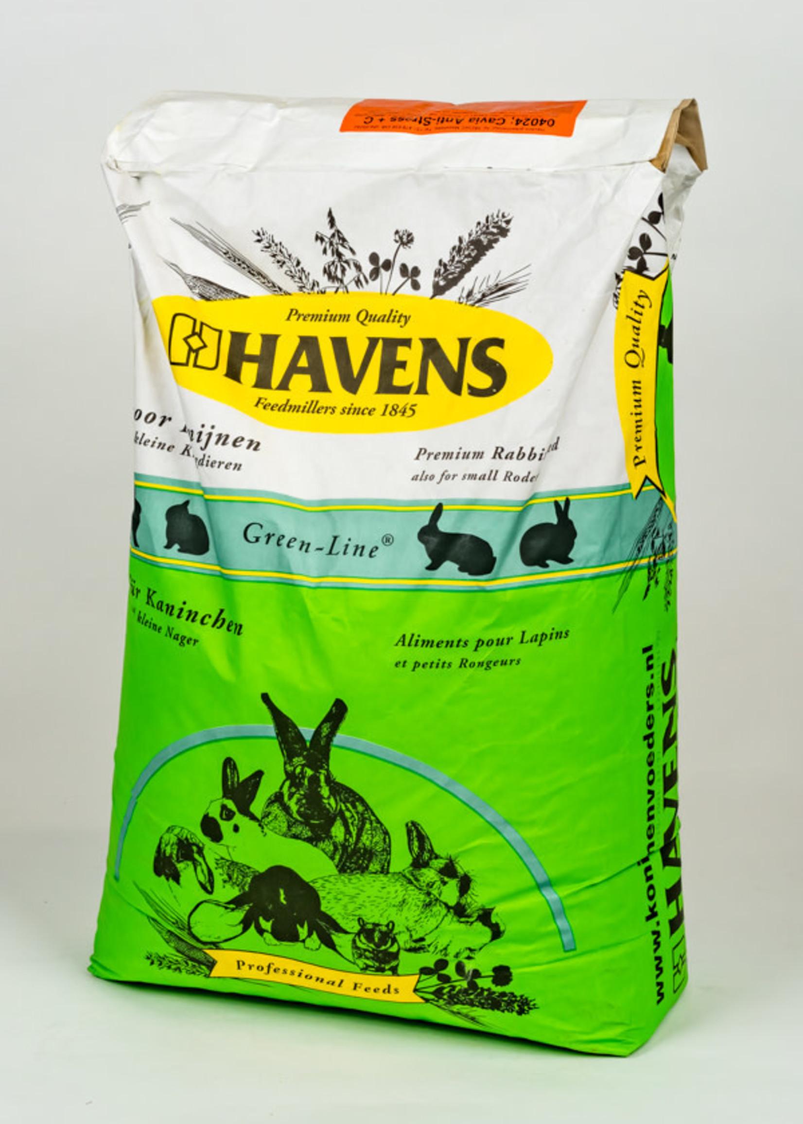 Havens Havens Cavia anti-stress+c 20kg