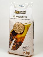 Houtpellets Agriselect 15 kg (per zak)