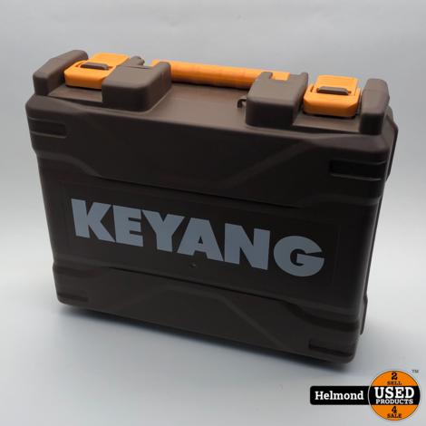 Keyang DD-1802LP-2C Accuboormachine met 2 accu's, lader + kist | Zgan