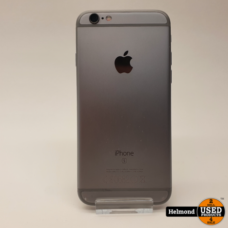 iPhone 6s 32GB Space Gray #1   Nette Staat