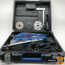 Varo Powertools VAR10066/20 Mini Circular Saw | In Nette Staat in Koffer