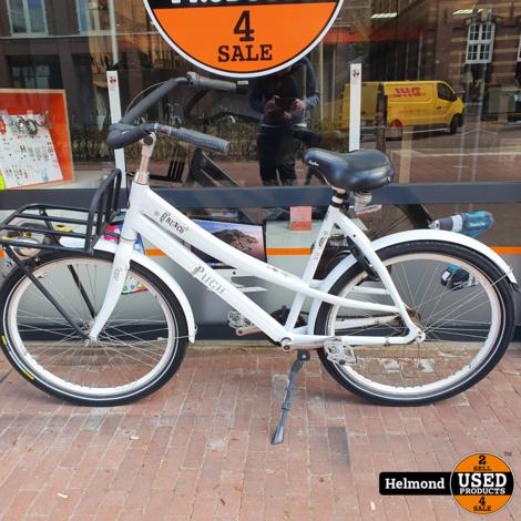 Crunch 3CD Freestyle fiets Wit   Nette Staat