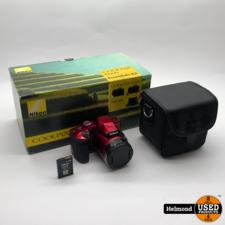 Nikon Nikon Coolpix B600 RED   Zo Goed Als Nieuw met 3 maanden garantie