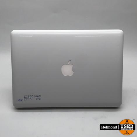 Apple Macbook (13inch - Medio 2010) Wit | Gebruikt