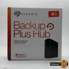 Seagate Seagate Backup Plus Hub 4TB | Zo Goed Als Nieuw met 3 maanden garantie