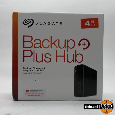 Seagate Backup Plus Hub 4TB | Zo Goed Als Nieuw met 3 maanden garantie