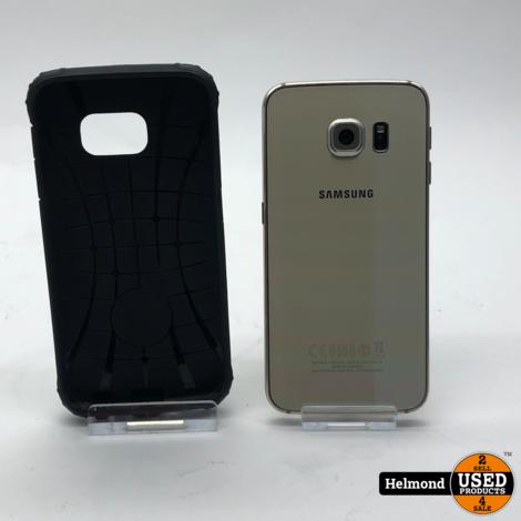 Samsung Galaxy S6 Edge 32Gb Gold Sapphire   Nette staat