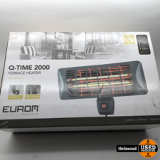Eurom Q-time 2000   Nieuw in Seal