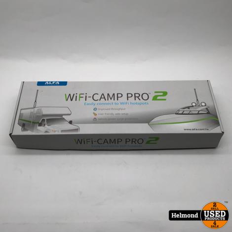 Alfa Wifi-Camp Pro   Nieuw in Doos