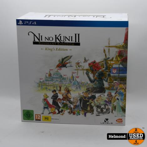 PS4 Ni no Kuni II   Nieuw in Seal