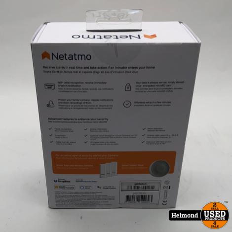 Netatmo Welcome NSC01-EU IP Bewakingscamera WiFi   Nieuw in doos