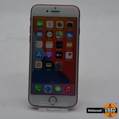 Apple iPhone 7 256GB Red   In Nette Staat, Batterij 100%