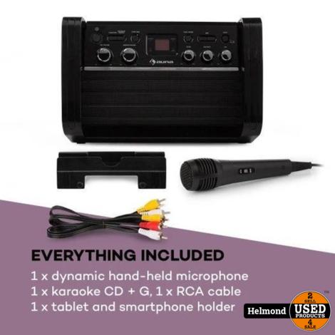 Auna DiscoFever LED - Karaokesysteem | Nieuw met 3 maanden garantie