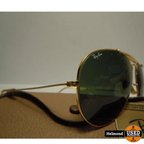 Ray-Ban Zonnebril Vintage met B&L Glazen Outdoors 80's   Nette staat