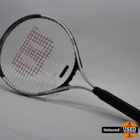 Wilson Whack Attack 25 Tennisracket Wit   In Nette Staat
