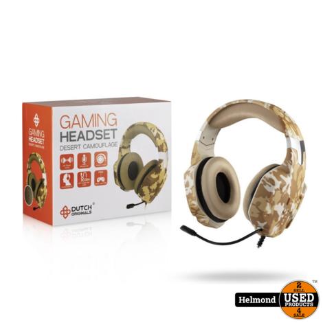 Dutch Originals Army Gaming Headset | Nieuw met 3 maanden garantie