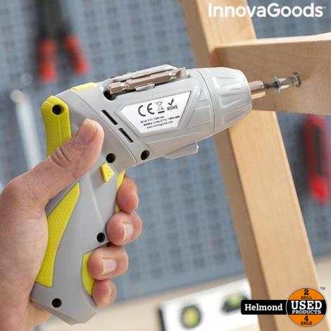 InnovaGoods Drivelite Accu Schroefmachine incl. 33 delige bitset | Nieuw in doos