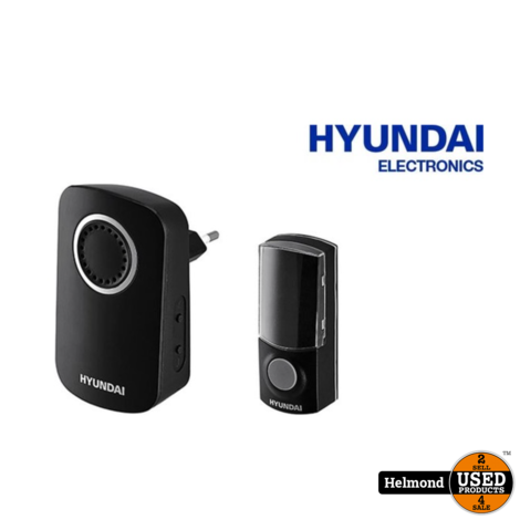 Hyundai Wireless Plug-in Doorbell | Nieuw