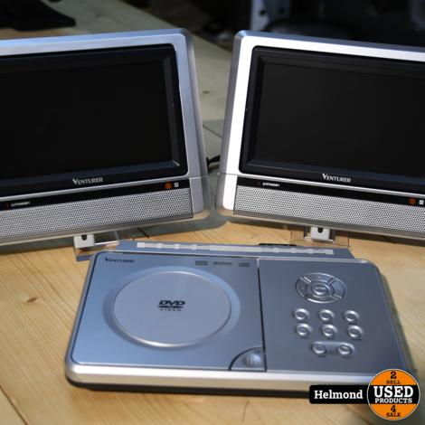 Venturer PVS1971 Auto DVD speler 2 monitors   Gebruikt