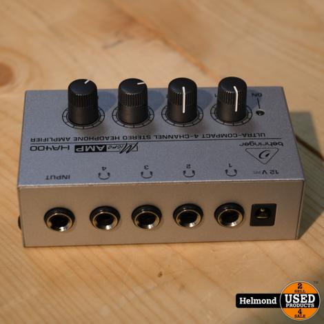 Behringer Micro AMP HA400 Koptelefoonversterker   In Nette Staat