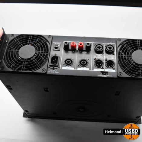 Samson S2000 2x 1000W 4Ohm 1x 2000W 8Ohm Stereo versterker | Gebruikt
