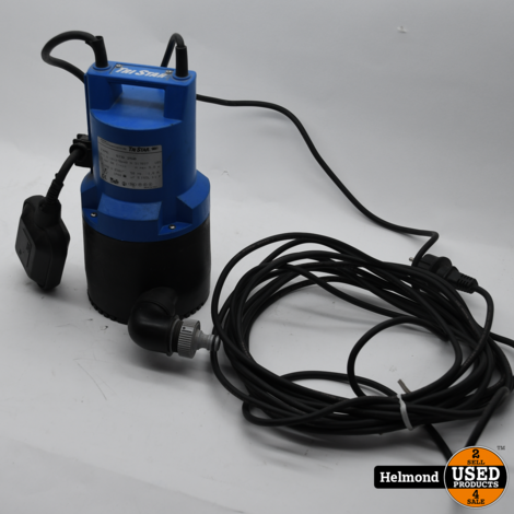 Tri Star STG 250 Waterpomp met Vlotter   In Nette Staat