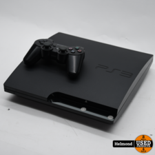 PlayStation Sony Playstation 3 Slim 120Gb met Controler   In Nette Staat