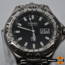 Fossil Fossil Blue Am-3235 Heren Horloge | Gebruikt