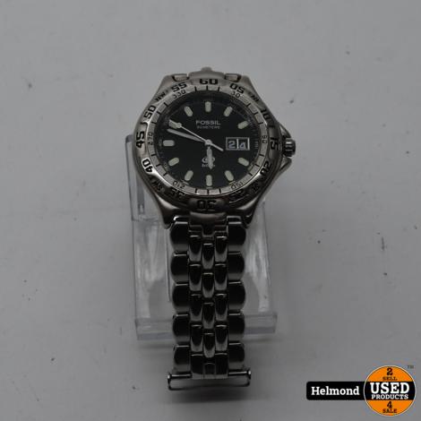 Fossil Blue Am-3235 Heren Horloge | Gebruikt