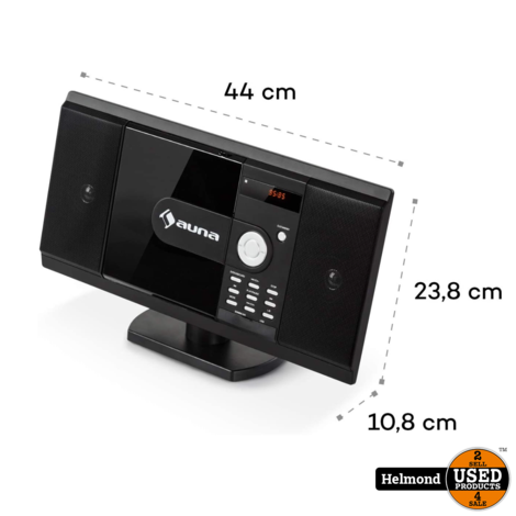 AUNA Radio Cd-speler MCD-82BT #2 | Nieuw met 3 maanden garantie