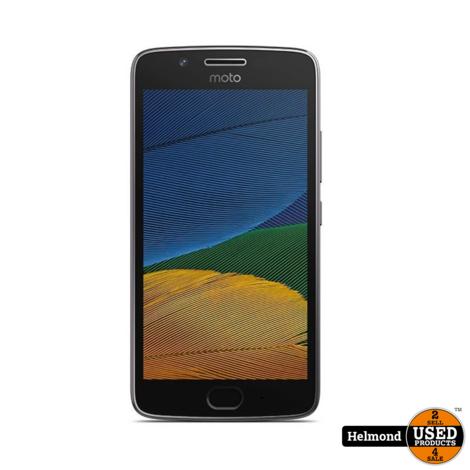 Motorola Moto G5 16Gb Grey | gebruikt
