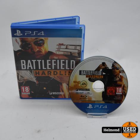 PS4 Game   Battlefield Hardline