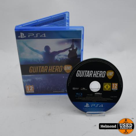 PS4 Game | Guitar Hero Live