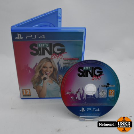 PS4 Game | Let's Sing 2016