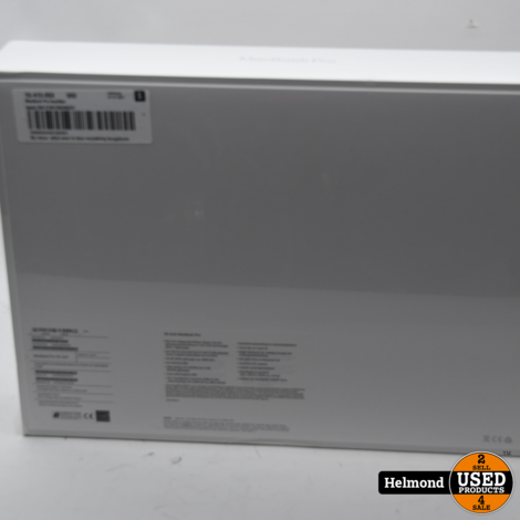 MacBook Pro 2019 16-inch 512GB Touchbar | Nieuw in Seal + Bon