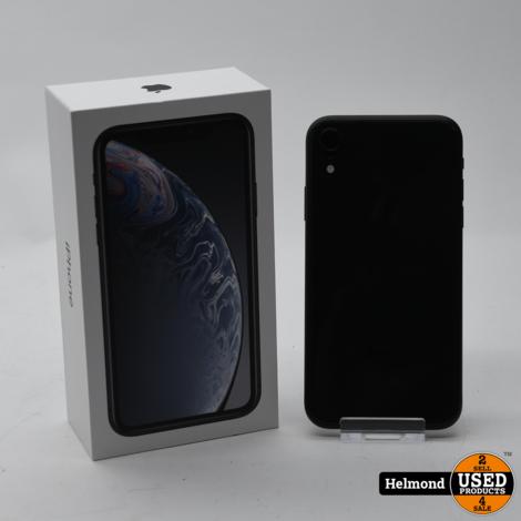 Apple iPhone XR 64Gb Black   In Nette staat