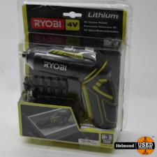 Ryobi Ryobi 4V R4SDP-L13C Screw Driver electrische schroevendraaier | In Nette Staat