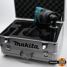 Makita Makita HR2230 SDS-plus boorhamer in koffer - 710W - 2,2J   ZGAN in Kist